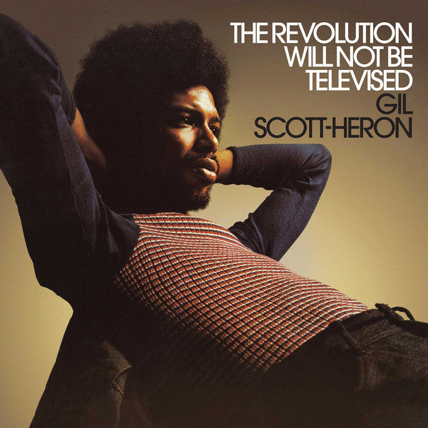 GIL SCOTT-HERON (ギル・スコット・ヘロン)  - The Revolution Will Not Be Televised (EU Ltd.Reissue LP/New)