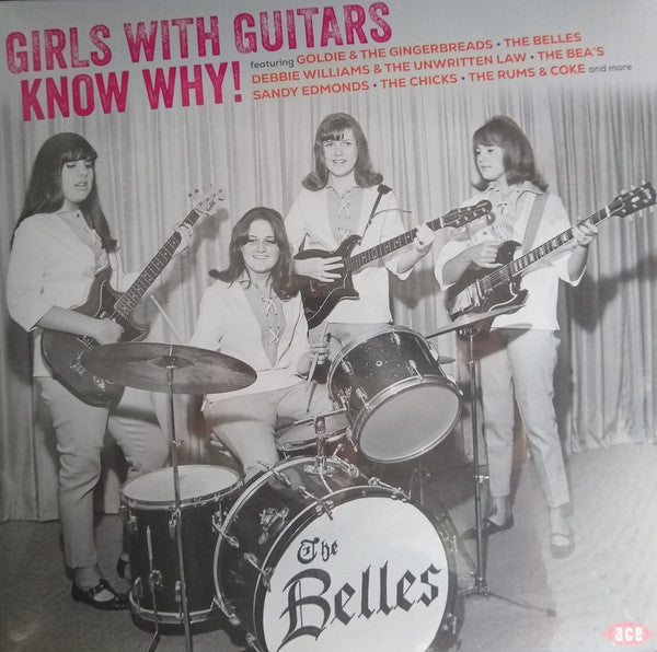 V.A. - Girls With Guitars Know Why! (EU Ltd.LP/New)