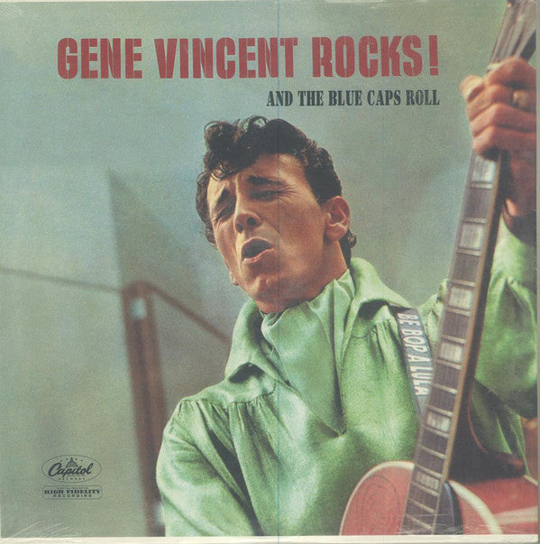GENE VINCENT & HIS BLUE CAPS (ジーン・ヴィンセント)  - Rocks & The Blue Caps Roll (US Ltd.Reissue LP/New)