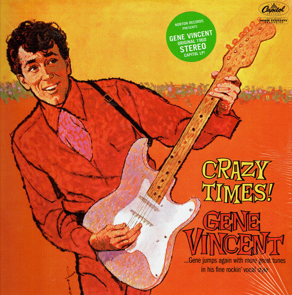 GENE VINCENT (ジーン・ヴィンセント)  - Crazy Times! (US Ltd.Reissue LP/New)