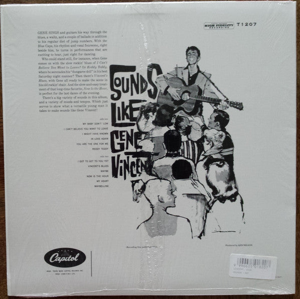 GENE VINCENT (ジーン・ヴィンセント)  - Sounds Like (US Ltd.Reissue LP)