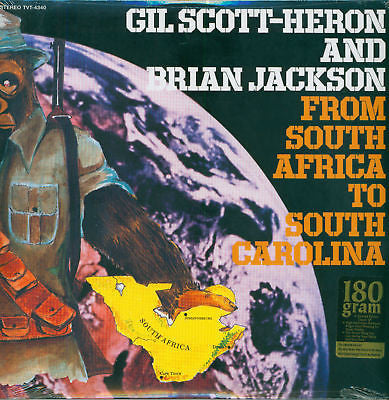GIL SCOTT - HERON AND BRIAN JACKSON (ギル・スコット・ヘロン & ブライアン・ジャクソン)  - From South Africa To South Carolina (US Ltd.Re LP/New)