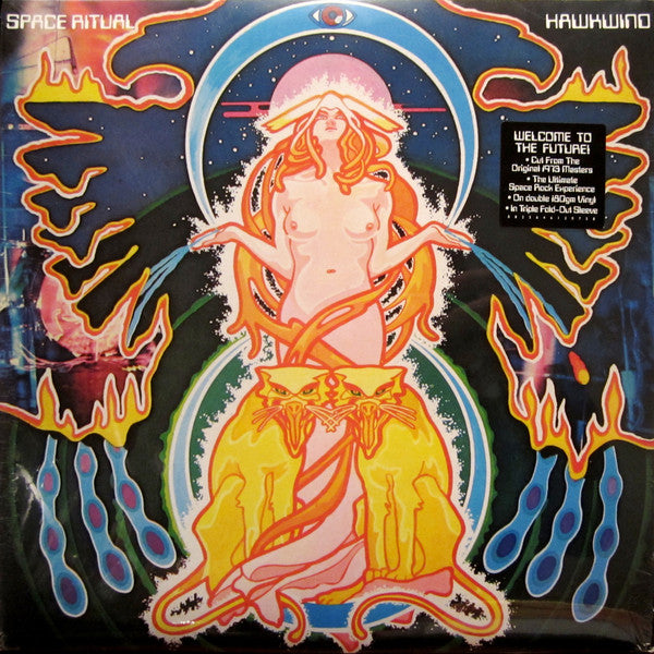 HAWKWIND - Space Ritual (EU Ltd.Reissue Red Vinyl 2xLP/New)