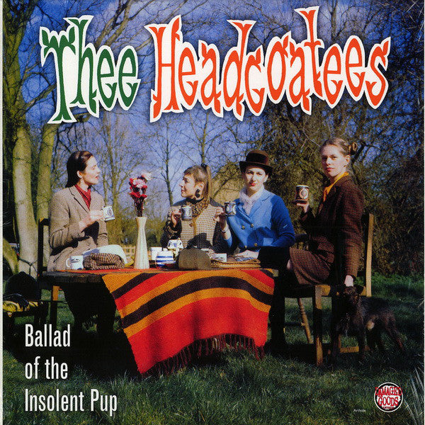 HEADCOATEES - Ballad Of The Insolent Pup  (UK Ltd.Reissue Red Vinyl LP/New)