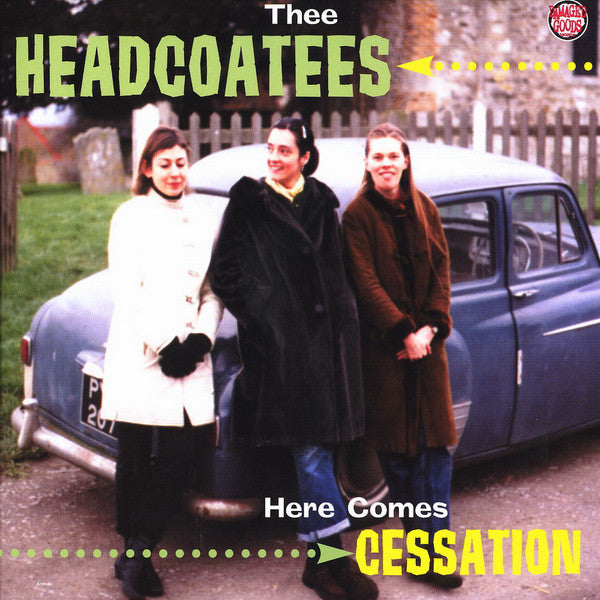 HEADCOATEES - Here Comes Cessation (UK Ltd.Reissue Red Vinyl LP/New)