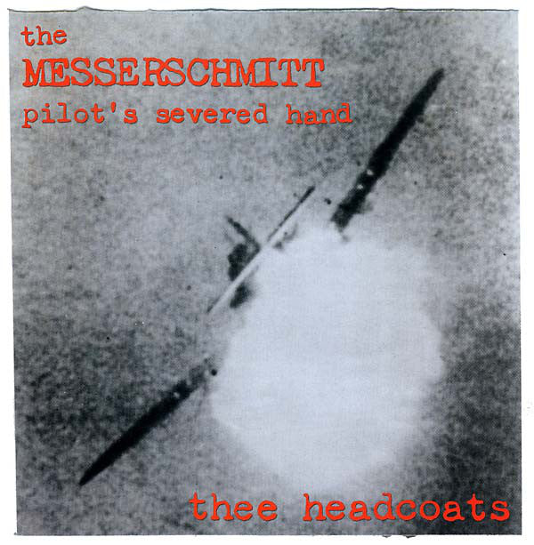 HEADCOATS - The Messerschmitt Pilot's Severed (UK Ltd.Reissue RED Vinyl LP/New)