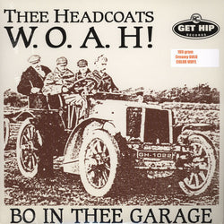 HEADCOATS - W.O.A.H! Bo In Thee Garage (US Ltd.Reissue Color LP/New)