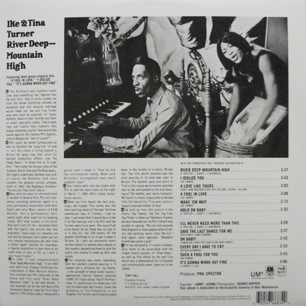 IKE & TINA TURNER (アイク&ティナ・ターナー)  - River Deep Mountain High (US Ltd.Reissue LP/New)