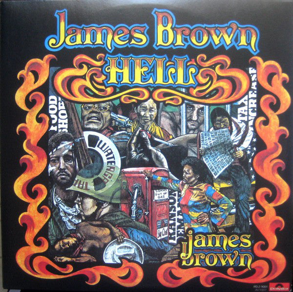 JAMES BROWN (ジェームス・ブラウン)  - Hell (US Ltd.Reissue 2xLP/New)