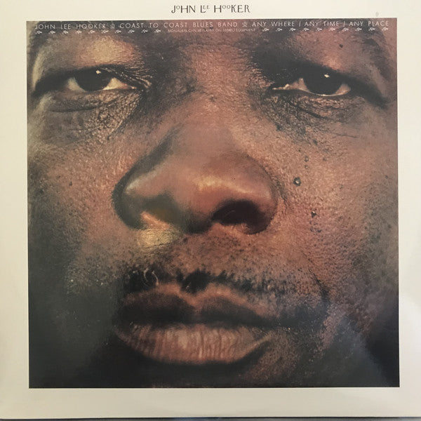 JOHN LEE HOOKER (ジョン・リー・フッカー)  - Any Where / Any Time / Any Place (US Ltd.Reissue LP/New)
