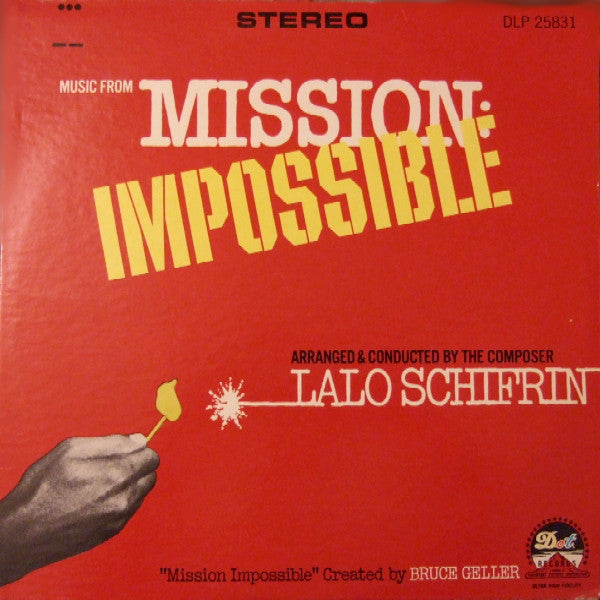 LALO SCHFRIN     (ラロ・シフリン)  - Music From Mission: Impossible (US Ltd.Reissue LP/New)