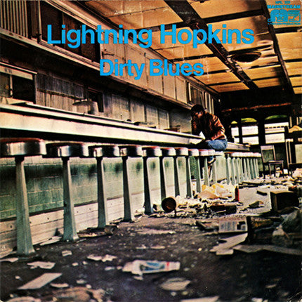 LIGHTNIN' HOPKINS (LIGHTNING HOPKINS) (ライトニン・ホプキンス)  - Dirty Blues (US Ltd.Reissue LP/New)