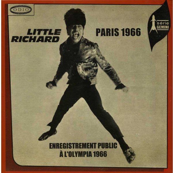 LITTLE RICHARD (リトル・リチャード)  - Paris 1966 (France Ltd.LP/New)