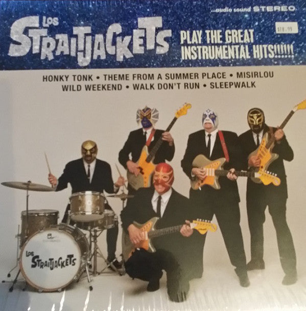 "LOS STRAITJACKETS - Play The Great Instrumental Hits (US Ltd.Clear Vinyl 10""/New)"