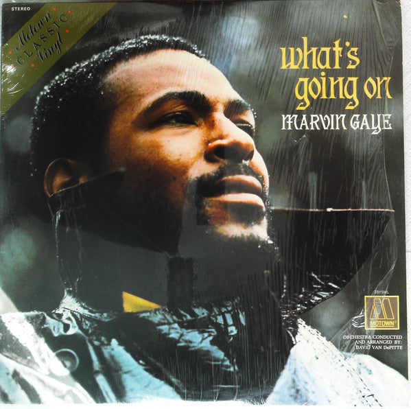 MARVIN GAYE (マーヴィン・ゲイ)  - What's Going On (US Ltd.Reissue Color Vinyl LP/New)