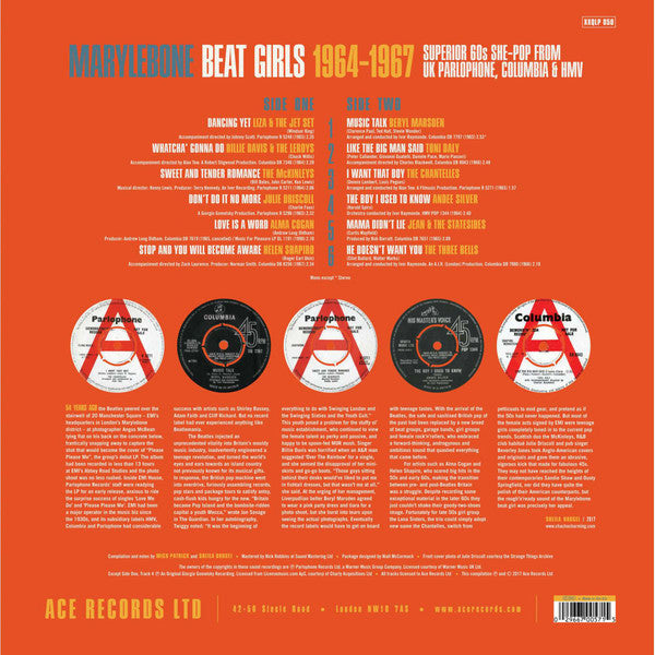V.A. - Marylebone Beat Girls 1964-1967 (EU Ltd.LP/New)