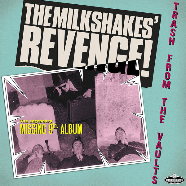 MILKSHAKES - Revenge! (UK Ltd.Reissue LP/New)