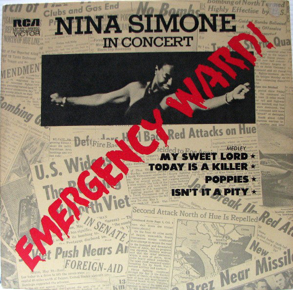 NINA SIMONE - Emergency Ward! / In Concert (US Ltd.Reissue LP/New)