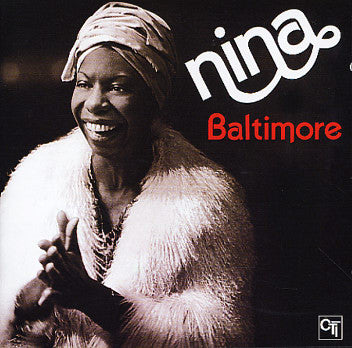 NINA SIMONE (ニーナ・シモン)  - Baltimore (US Ltd.Reissue LP/New)