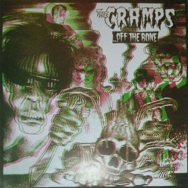 CRAMPS (クランプス)  - Off The Bone (EU Unofficial Reissue LP/New)