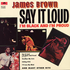 JAMES BROWN - Say It Loud (I'm Black & I'm Proud) (US Ltd.Reissue LP/New)