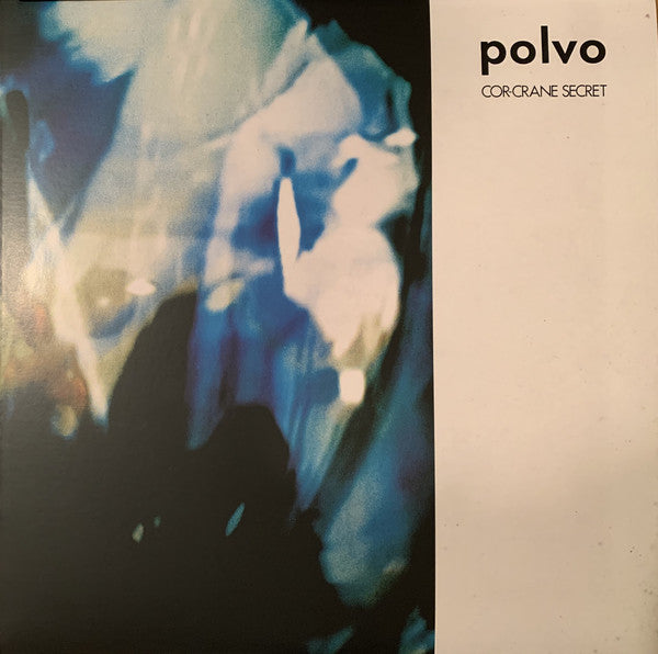 POLVO - Cor-Crane Secret (RE Blue & White Vinyl LP/NEW)