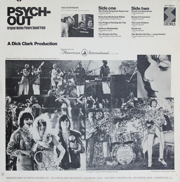 O.S.T (サントラ)  - PSYCH-OUT (EU Unofficial Reissue LP/New)