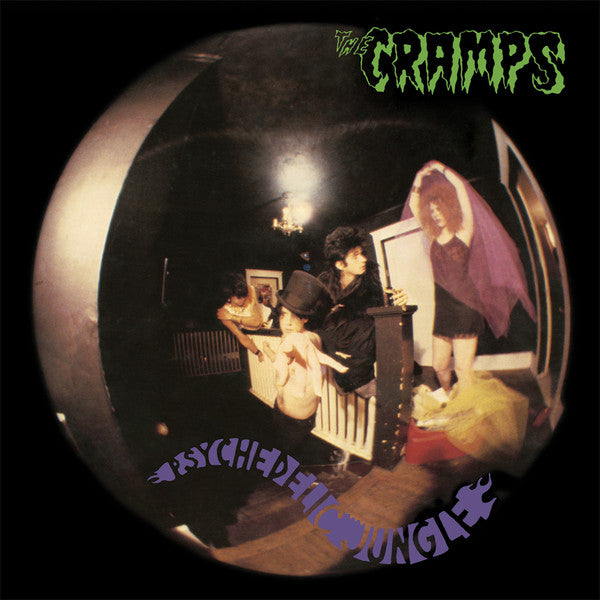CRAMPS - Psychedelic Jungle (US Ltd.150g Black Vinyl Reissue LP/New)