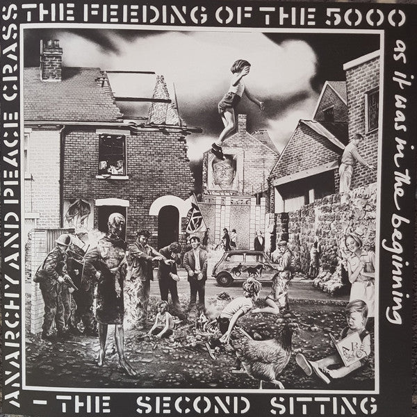 CRASS (クラス) - The Feeding Of The 5000 (UK Reissue 180g LP / New)