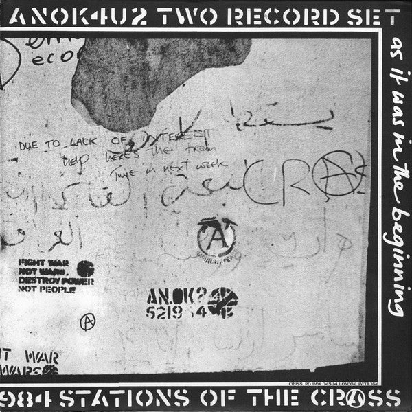 CRASS (クラス) - Stations Of The Crass (UK Reissue 2x180g LP / New)