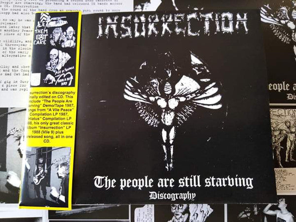 INSURRECTION - The People Are Still Starving Discography (CD/New)