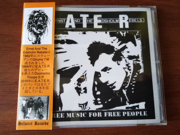 E.A.T.E.R. - Free Music For Free People 1982-2017 (CD/New)