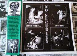 NO SECURITY - Masskontroll 1986-1993 (CD/New)