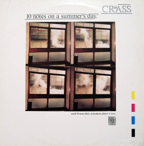 "CRASS (クラス) - 10 Notes On A Summer's Day (UK Reissue 180g 12"" / New)"