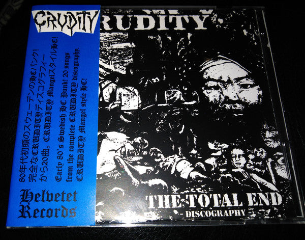 CRUDITY - The Total End Discography (CD/New)
