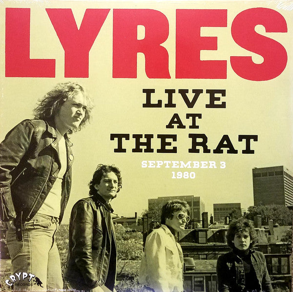 LYRES (ライアーズ) - Live At The Rat : September 3 1980 (LP / New)