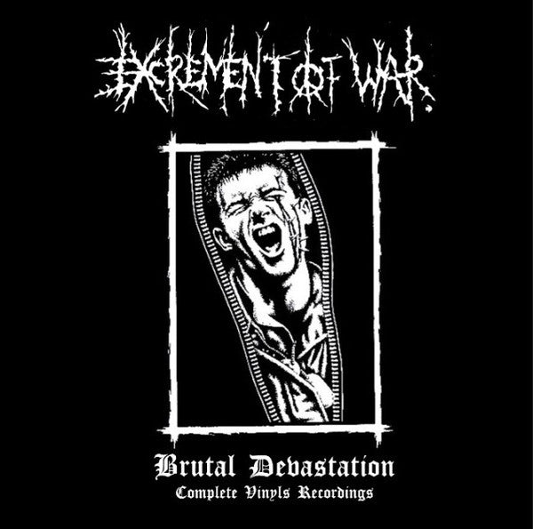 EXCREMENT OF WAR - Brutal Devastation : Complete Vinyls Recordings (CD/New)
