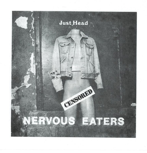 "NERVOUS EATERS (ナーバス・イーターズ) - Just Head / Get Stuffed (Reissue 7"" / New)"