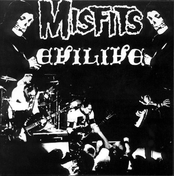 "MISFITS (ミスフィッツ)  - Evilive (US Unofficial White Vinyl 7"" / New)"