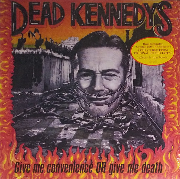 DEAD KENNEDYS (デッド・ケネディーズ) - Give Me Convenience Or Give Me Death (US Reissue 180g LP+Booklet / New)