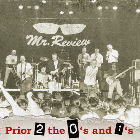 MR. REVIEW (ミスター・レビュー) - Prior 2 The 0's And The 1's (German Orig.LP /New)