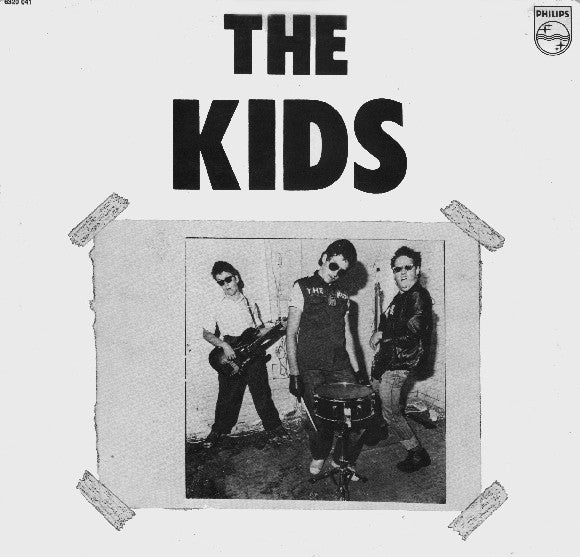 KIDS, THE - S.T. (Unofficial Color Vinyl LP/New)