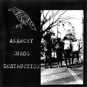 CROW - Anarchy Chaos Destruction (Japan Re CD/New)