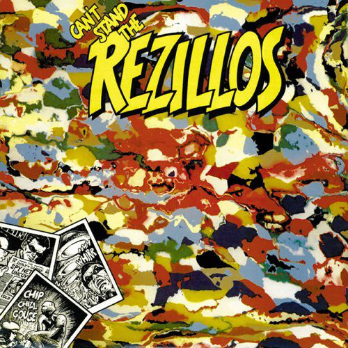 REZILLOS, THE (ザ・レジロス) - Can't Stand The Rezillos (US 500 Ltd.Yellow Vinyl 140g LP / New)