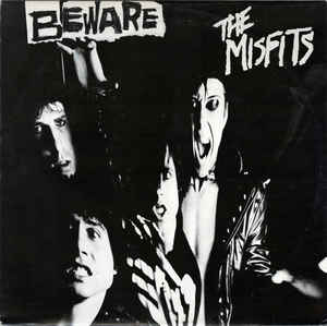 "MISFITS (ミスフィッツ)  - Beware (Ltd.Blue Vinyl 7"" / New)"