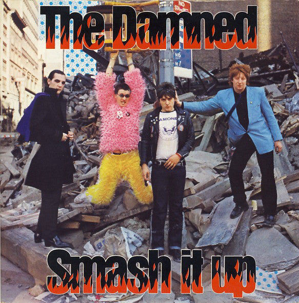 "DAMNED, THE - Smash It Up (Reissue Red Vinyl 7"" / New)"