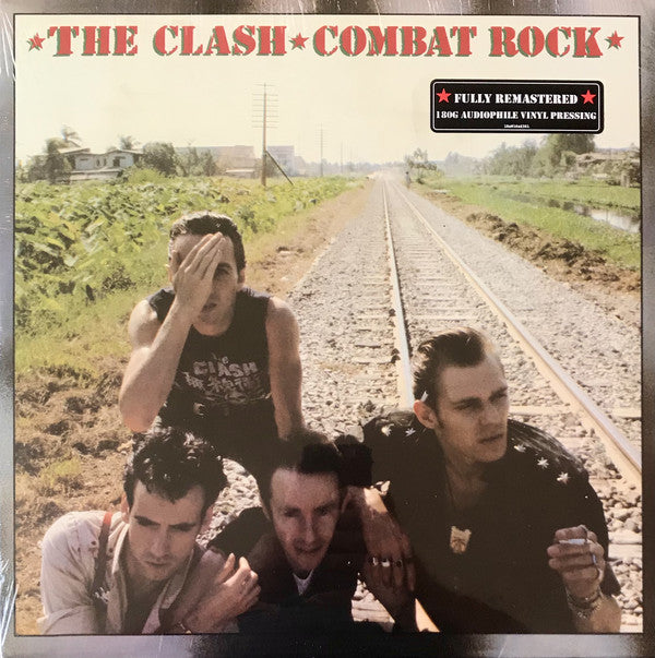 CLASH, THE (クラッシュ) - Combat Rock (US Reissue 180g LP / New)
