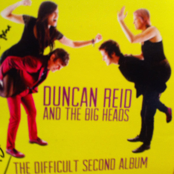 DUNCAN REID AND THE BIG HEADS - The Difficult Second Album (German Orig.LP/New)