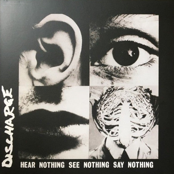 DISCHARGE - Hear Nothing See Nothing Say Nothing (US Re LP/New)