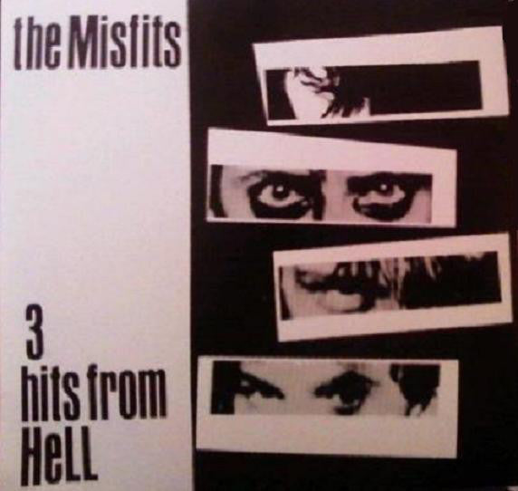 "MISFITS (ミスフィッツ) - 3 Hits From Hell (US Unofficial White Vinyl 7"" / New)"
